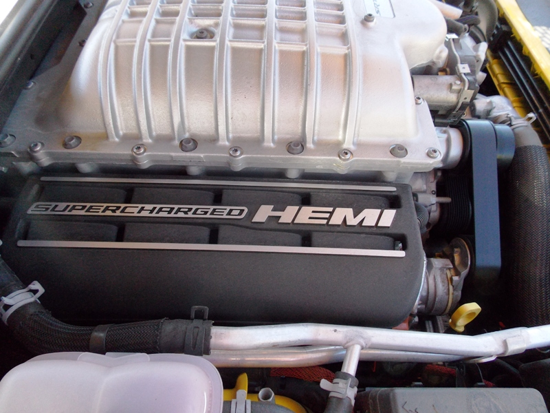 Super charged HEMI