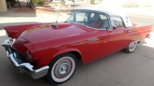 1957 Ford T-Bird-Convertible