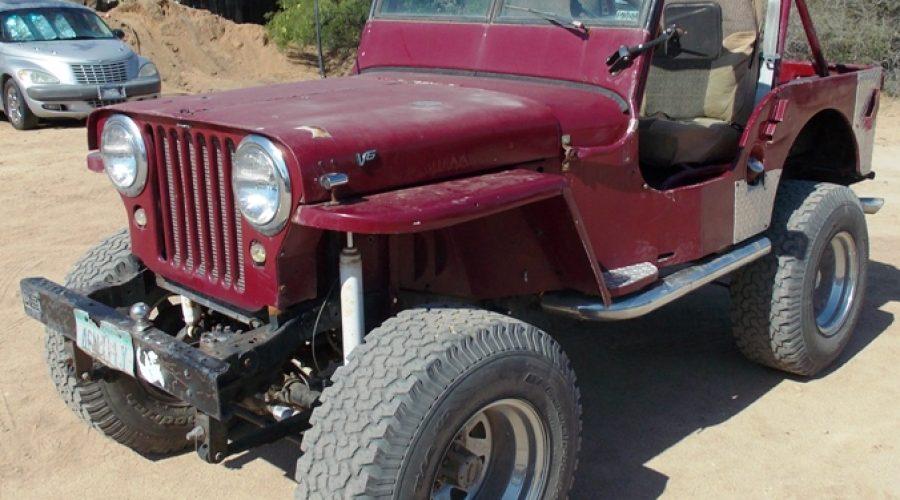 1946 Willys CJ-2A Jeep-OI-00462