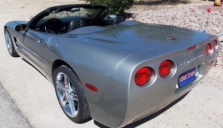 2002 Chevrolet Corvette Convertible-OI-00314