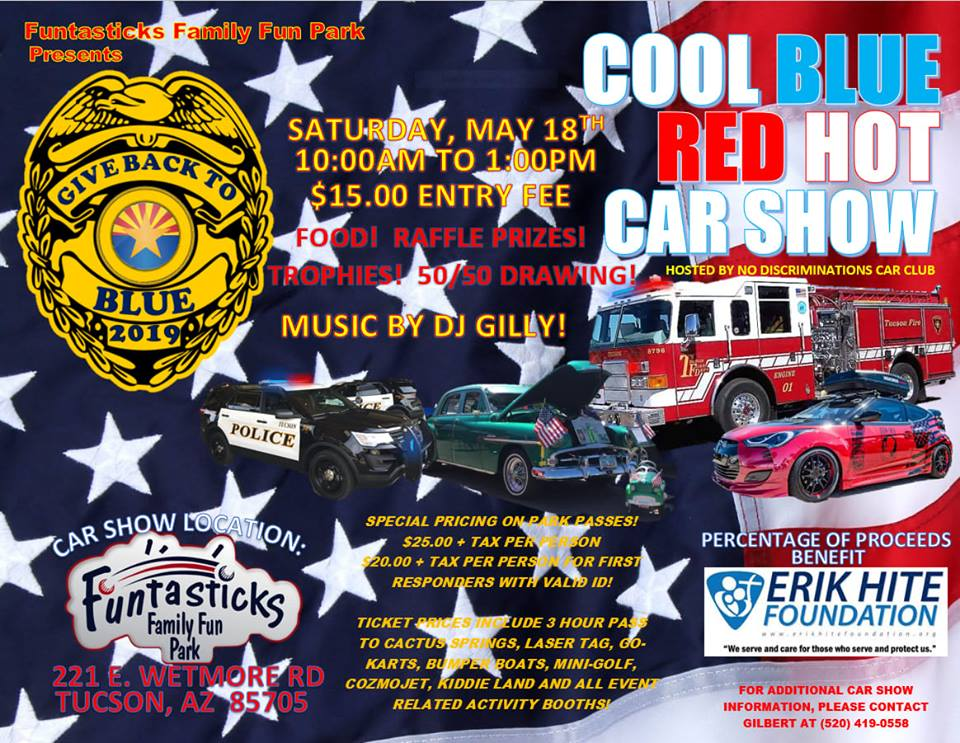 2019 5-18 Cool Blue Red Hot Car Show
