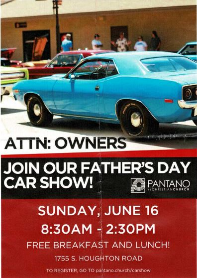 2019 6-16 Father's Day Car Show