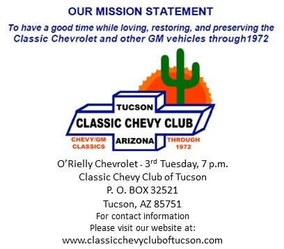 Classic Chevy Club of Tucson