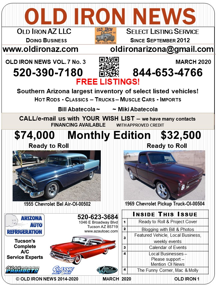 Old Iron NEWS 2020 Vol 7 No 3