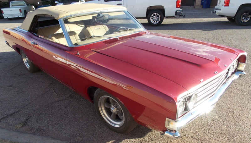 1969 Ford Fairlane 500 Convertible